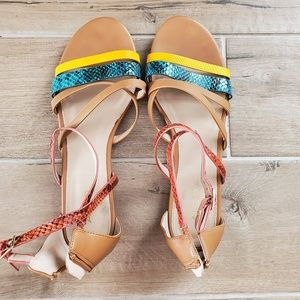 ALDO Multi-Color Sandals